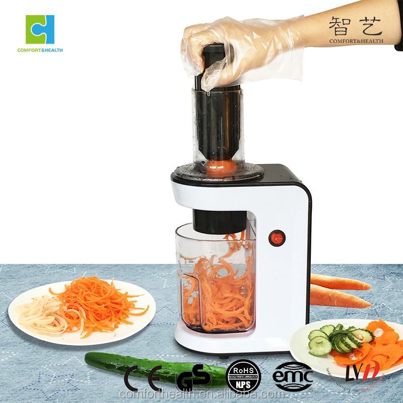 Keukenmachine elektrische salade maker en Elektrische Plantaardige Spiralizer en groentesnijder ...