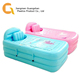 Relax spa Bubble pad Inflatable adult bathtub with independent seat