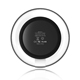 round qi crystal wireless charger for smartphone
