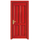Catalog choice Multiple color customized Decorative pattern design solid wooden door