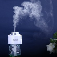 Unique Mini Air Freshener USB Gadgets Portable Bottle Steam Air Mist Discharge Office Room Car you can add perfume easy carry