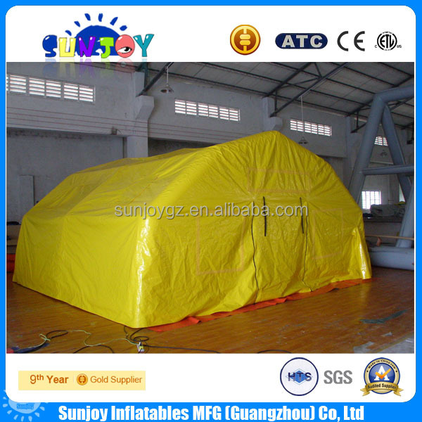 hot sale portable inflatable cabin vango for medical camping party tent