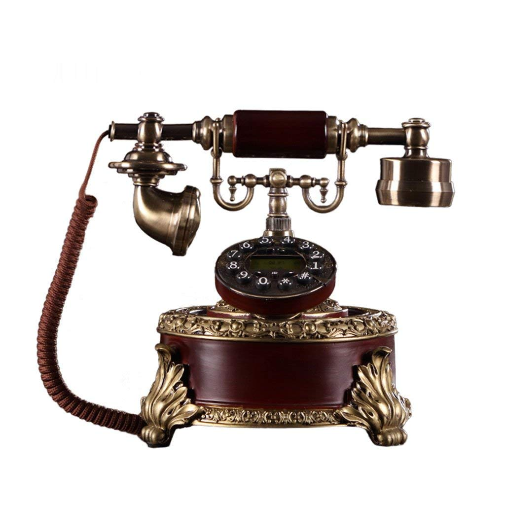 Landline Retro Interior Decoration Home and Office Hotel Creative Antique Telephone Caller ID