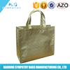 Full Color Printing PP Laminated Non Woven Tote Grocery Bag