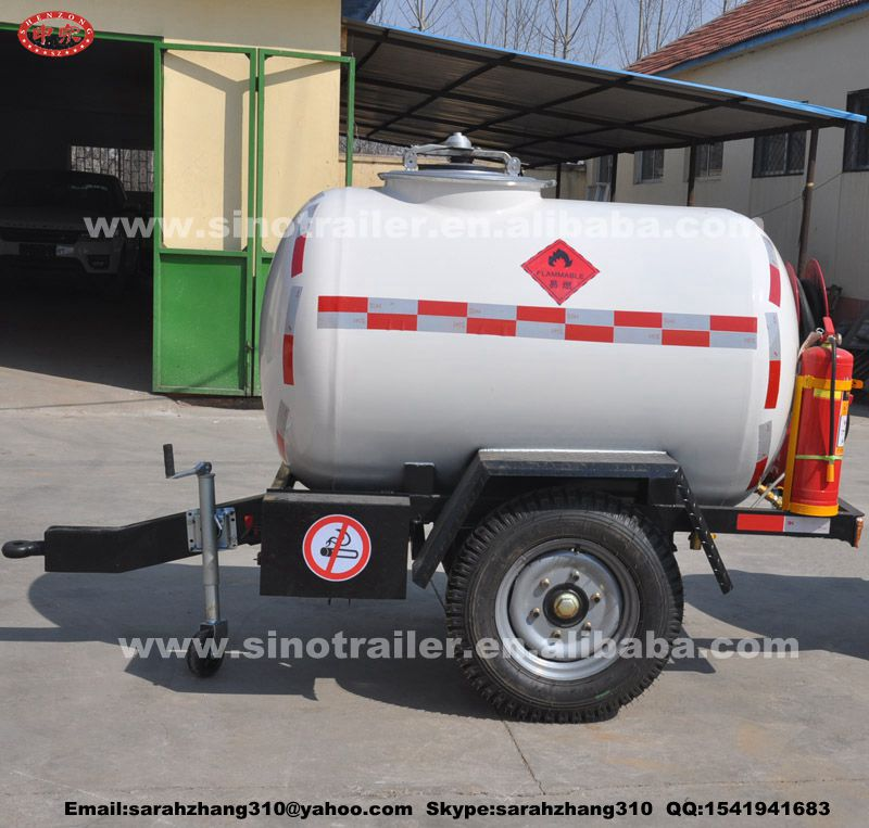 Other Trailers Use stainless steel fuel tank semi trailer