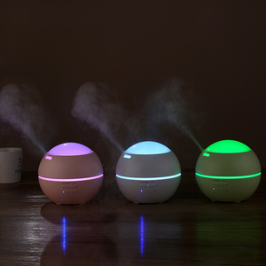 Led night light aroma diffuser humidifier best novelty creative men ladies return wedding gifts for guests