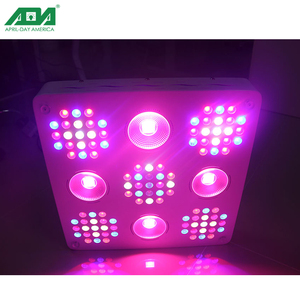 High quality smart control dimmable 1000W 1500W 2500W hydroponic led grow light for farm and greenhouse