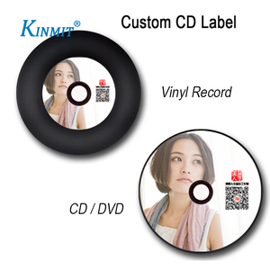 Kinmit Custom Design Printing Self Adhesive CD/DVD Label
