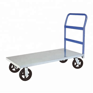 500kg Stainless Steel Hand Truck Folding Heavy Duty Platform Trolley