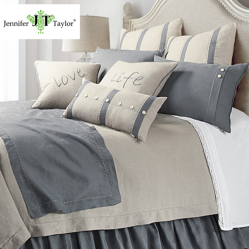 Home textile queen size linen factory bedding set, American popular factory direct sell 4 pieces pillow case sheet quilt cover