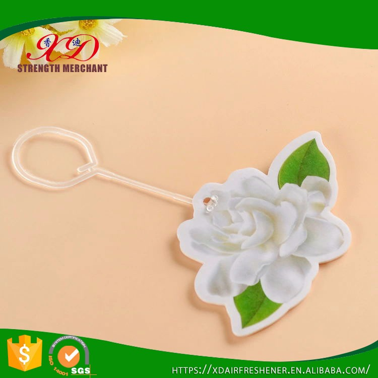 Customized Shape Jasmine Car Paper Flavors Promotional Gifts