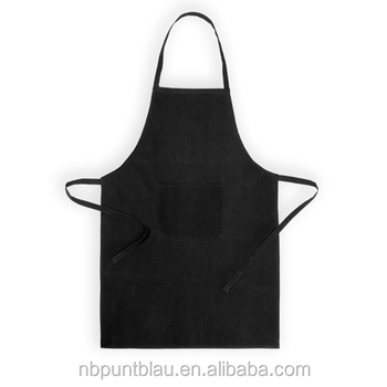 Tc Material Kitchen Apron With Front Pocket