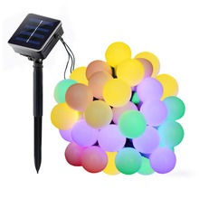Outdoor Party Lights Solar Led Garland String Light