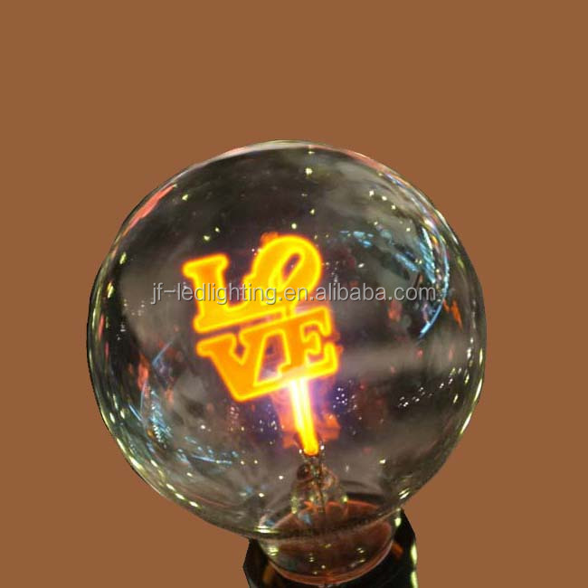 Love LED Flame night light for kids for company anniversary gift