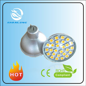 led spotlight mr11 8w 12v 24 5050 smd gu10 E27 led bulb 5w 6500k 3.6w 350-400lm 220v