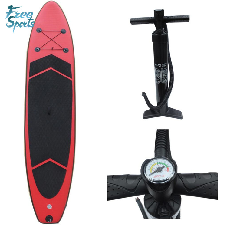 Priviate โลโก้ imprited inflatable SUP stand up paddle board