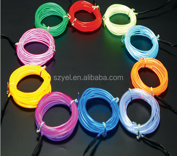 Festive & Party Supplies Home & Garden New Arrival 15m 10 Color Select Flexible El Wire Rope Tube Thread Neon Light Dc-5v Usb For House Trendy Night Wedding Decoration