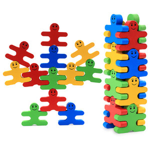 FQ brand high quality kids wooden educational balance toy