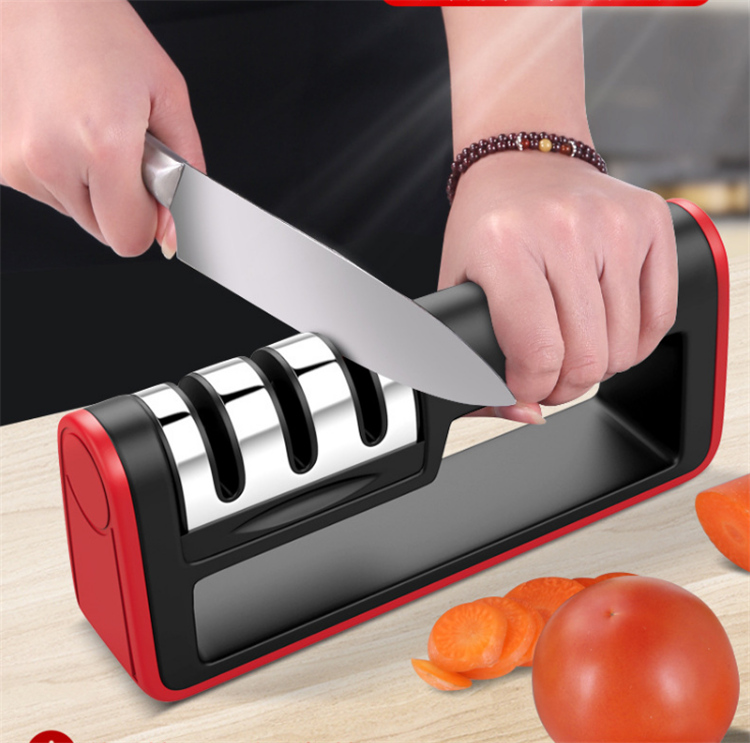 Household Quick Grinding diamond knife sharpener 3 stage