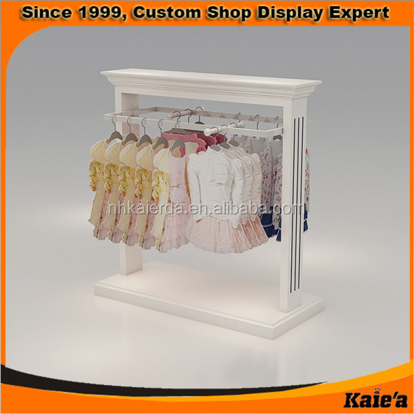 Finest New Best Seller Wooden Kids And Baby Clothes Display Rack,Children  BD44