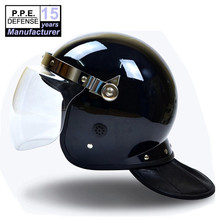Military Crowd control flat visor Police riot helmet