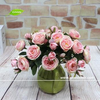Gnw Rose En Gros Vraie Touche Fleurs Artificielles Pas Cher Rose Bouquet De  Fleurs De Mariage Pour Les Mariages , Buy Fleurs Artificielles En