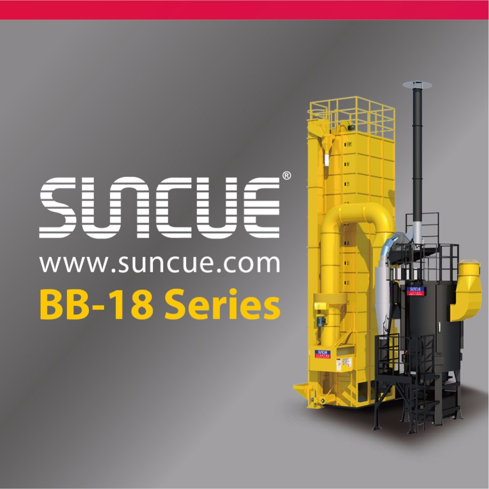 Suncue Grain Dryer BB-18 Biomass Rice Husk Furnace