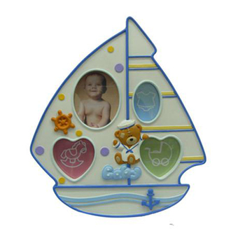 Gift Set Baby 12 Month Photo Frame Resin Baby Photo Frame For Gift