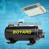 CE RoHS R22 hermetic Horizontal rotary compressor for rv climatiseur mobile air conditioner