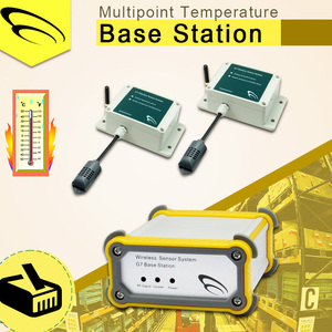 Multipoint Temperature Base Station For water level controller