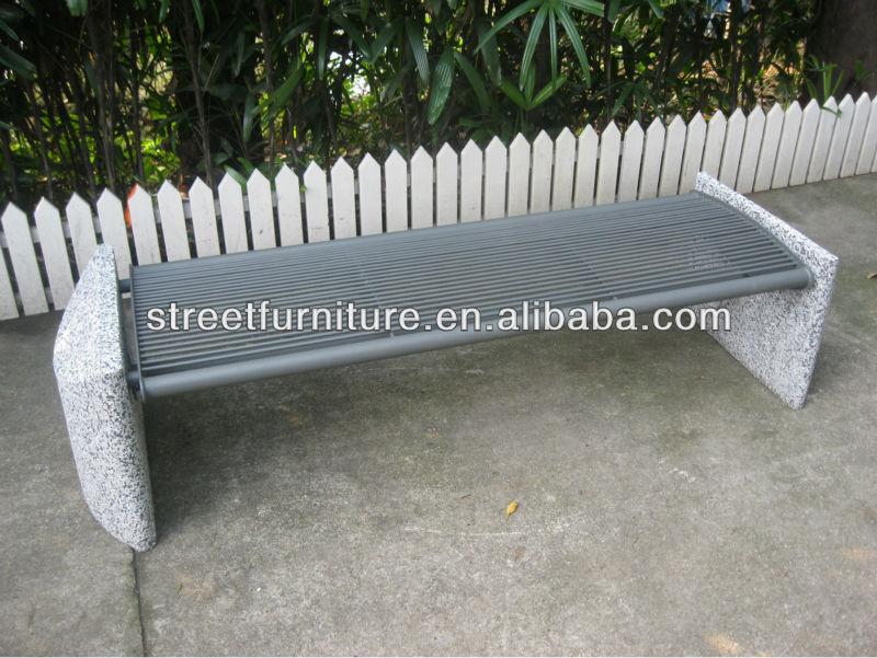 Panchine In Cemento Da Esterno.Backless Giardino Panchina Di Pietra Outdoor Giardino Panchina Di