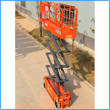 Small Automatic Electric Scissor Lift For Sale And Rental With Low Price -  Buy Small Electric Scissor Lift,Mini Scissor Lift,Electro-hydraulic Scissor