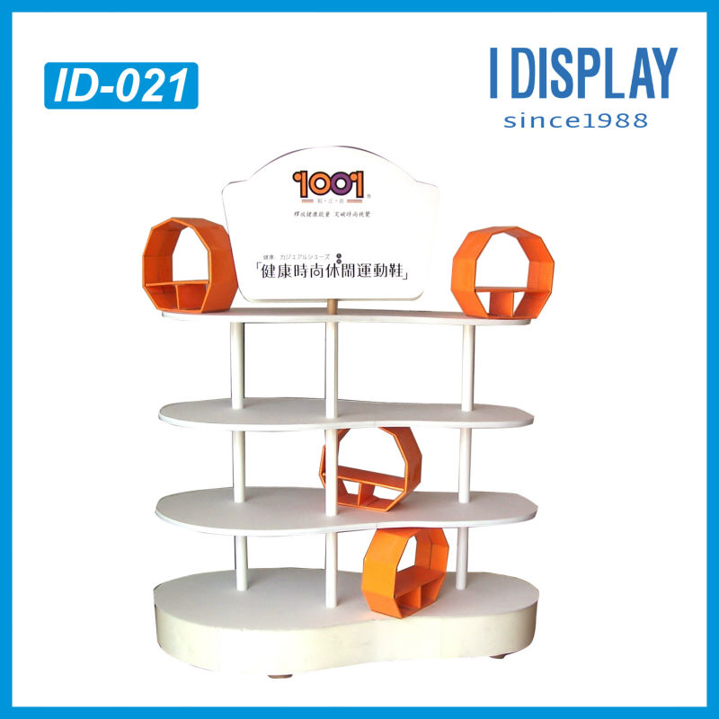 advertising display stand rack for nike shoes