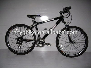 26 Inch Black 18 Speed Trek Adult Mountain Bike Tandem Road