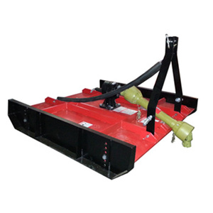 Bruch cutter for tractors; 3point topper mower rotary slasher
