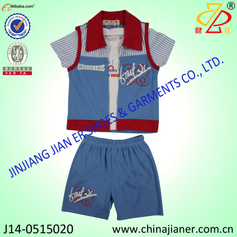 jianer new arrival 100%cotton cheap bulk wholesale kids clothing