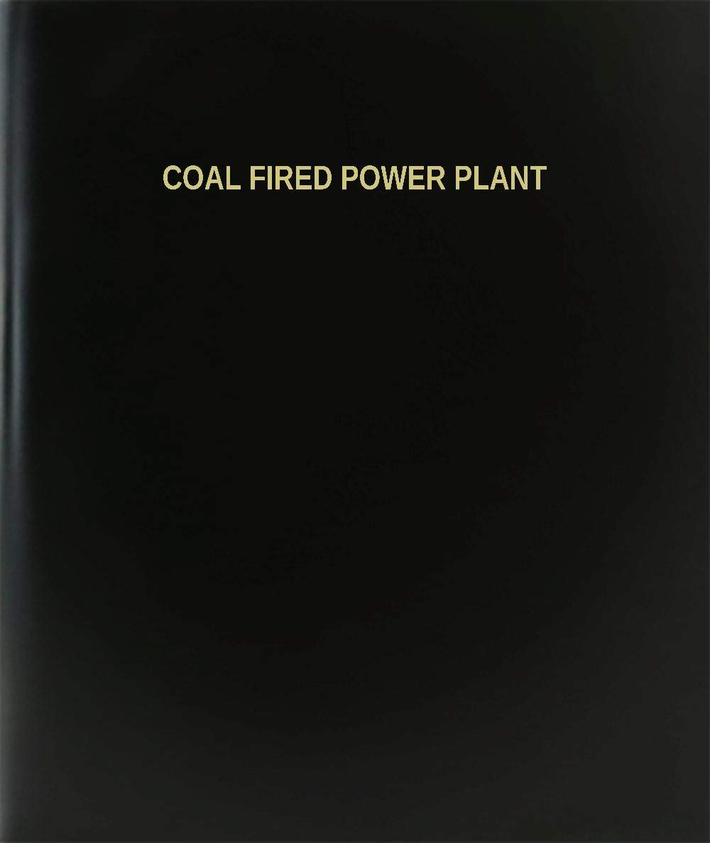 "BookFactory® Coal Fired Power Plant Log Book / Journal / Logbook - 120 Page, 8.5""x11"", Black Hardbound (XLog-120-7CS-A-L-Black(Coal Fired Power Plant Log Book))"