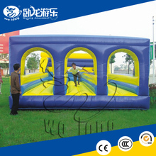 inflatable bungee bouncer, kid outdoor playground equipment