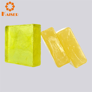 Cheap bath soap semitransparent crystal handmade soap