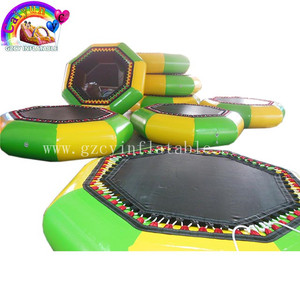 pvc strong material inflatable water bounce for kids