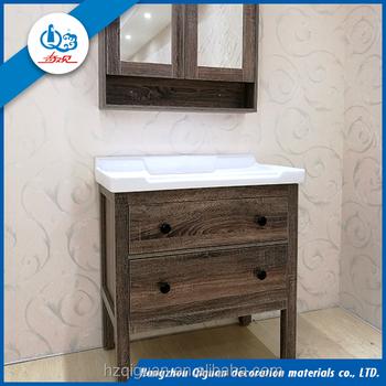 Cheap bathroom vanity sets solid wood antique bathroom vanity cabinet with mirror buy bathroom for Cheap bathroom double vanity sets