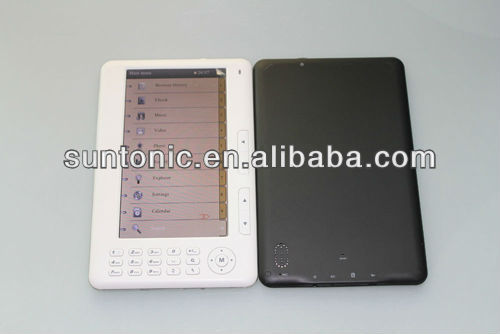 Best selling 7 inch Ebook reader with cheap price and full functions