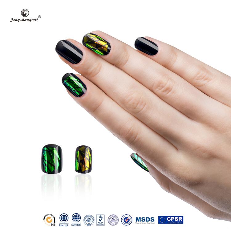 Fengshangmei Fashion False Nails Acrylic Box Short Acrylic Nail ...