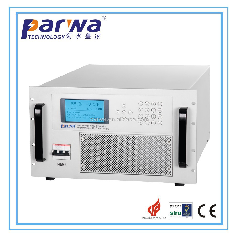 15KW programmable DC power source can 9 storage groups and 30 groups programmble datas