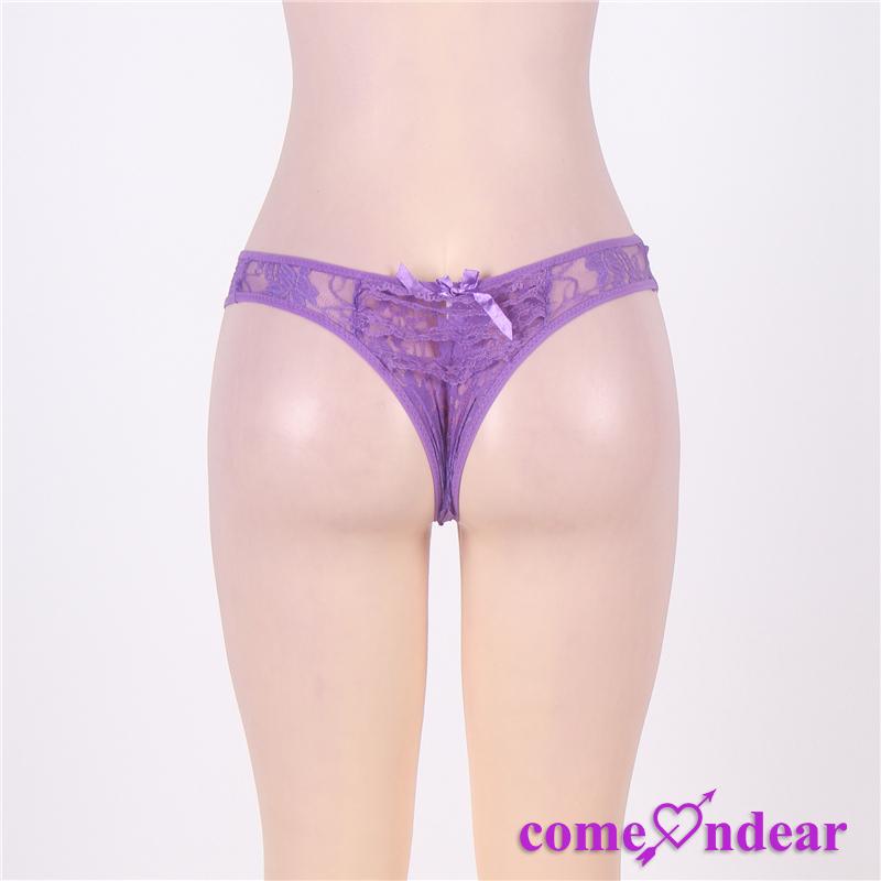 b6d884389 Produk Baru Modis Pabrik Sexy Ungu Renda Indian Gadis Thong - Buy ...