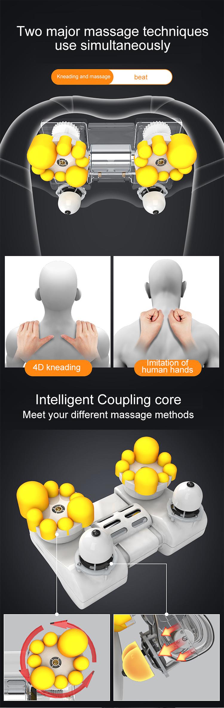 Shiatsu-Massagegerät für den persönlichen Körper des langen Körpers der langen Lebensdauer