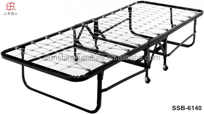 Cheap Simple Design Portable Metal Single Folding Bed Fold