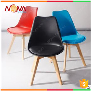 Wholesale modern cheap used designer plastic dining room table chair