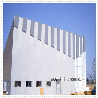 colored cement board exterior interior wall cladding partition base panel clean water decorative heat insulation