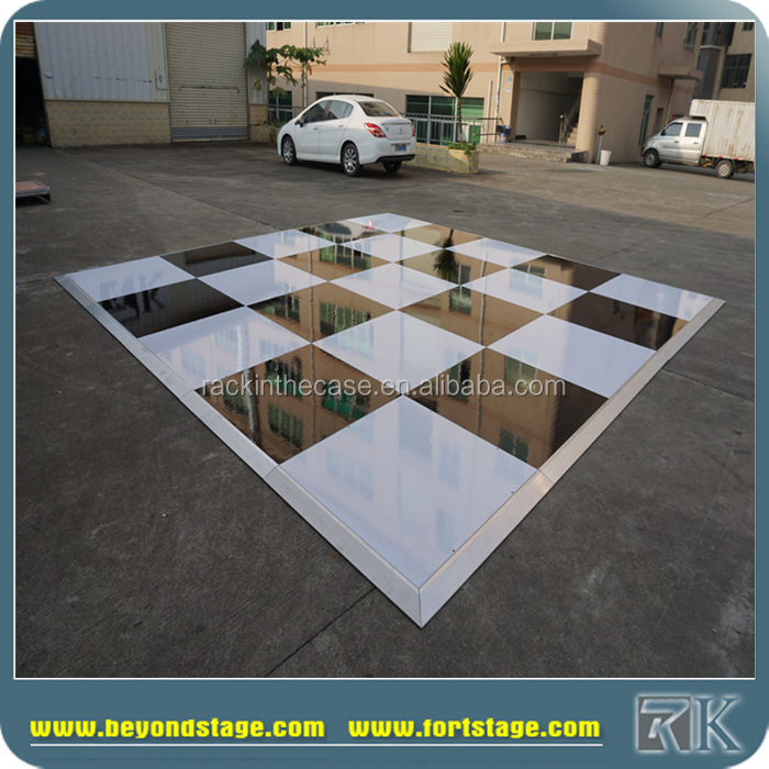 portable 4 foot by 4 foot marley dance floor covering